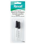 Rexall Glass Eye & Ear Medicine Droppers