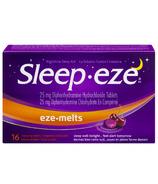 Sleep-eze Eze-Melts Night Time Sleep Aid