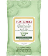 Burt's Bees Facial Cleansing Towelettes with Cucumber and Sage, 10