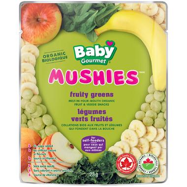 Baby Gourmet Mushies Fruity Greens