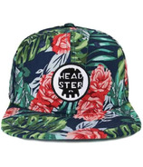 Headster Kids Snapback Hat Dark Aloha