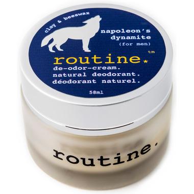 Routine De-Odor-Cream Natural Deodorant in Napoleon\'s Dynamite Scent