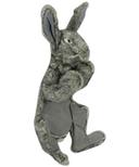 Hugglehounds Plush Durable Squeaky Harvey the Rabbit XL Dog Toy