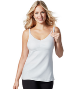 Bravado Dream Nursing Tank White