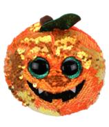 Ty Flippables Seeds Halloweenie The Sequin Pumpkin Medium