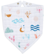 aden + anais Classic Bandana Bib Salty Kisses Mermaid Icons