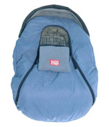 Baby Parka Carseat Cover Blue