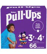 Huggies Pull-Ups Learning Designs Couches d'entraînement pour garçons