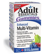 Adult Essentials Gummies Enhanced Multi-Vitamin