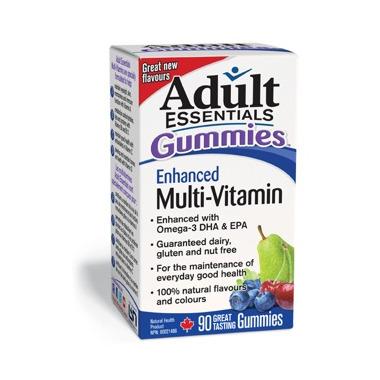 Adult Essentials Gummies Enhanced Multi-Vitamin