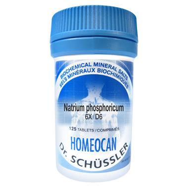 Homeocan Dr. Schussler Natrium Phosphoricum 6X Tissue Salts
