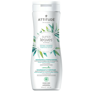 ATTITUDE Super Leaves Natural Shampoo Nourishing & Strengthening