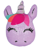 iScream Unicorn Reversible Sequin Pillow