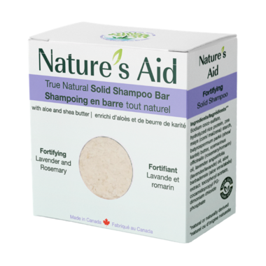 Nature\'s Aid Solid Shampoo Lavender and Rosemary