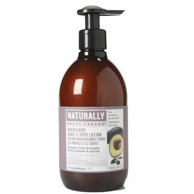 Upper Canada Soap Naturally Nourishing Hand & Body Lotion