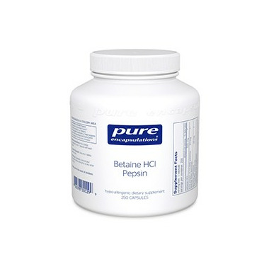 Pure Encapsulations Betaine HCl Pepsin