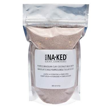 Buck Naked Soap Company Brazilian Purple Clay Coconut Milk Bath