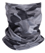 iScream Black Camo Gaiter Face Mask Child Size