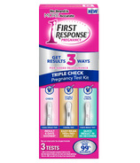 First Response Triple Check Pregnancy Test Kit