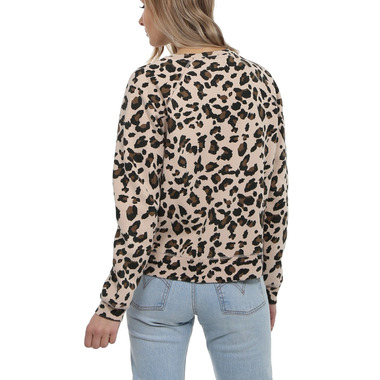 Brunette The Label Redhead Middle Crew Leopard