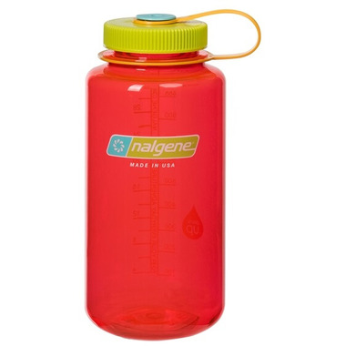 Nalgene 32 Ounce Tritan Wide Mouth Loop Pomegranate
