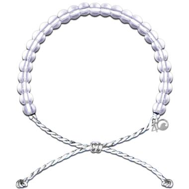 4Ocean Polar Bear Bracelet White