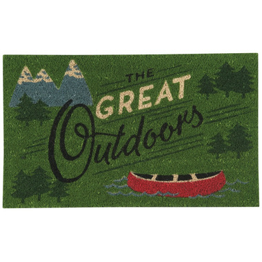 Now Designs Doormat Great Outdoors