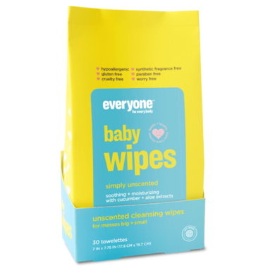 EO Everyone Baby Wipes Simply Unscented