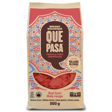 Que Pasa Red Corn Organic Tortilla Chips