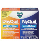 Vicks DayQuil NyQuil Cold & Flu Combo