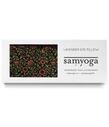 Samyoga Lavender Scented Eye Pillow Floral Black