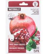 Naturally Upper Canada Pomegranate Face Mask