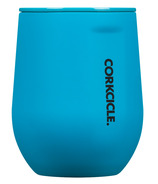 Corkcicle Neon Lights Stemless Neon Blue