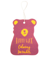 Happy Wax Scented Car Freshener Calming Lavender