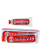 Marvis Mint Cinnamon Toothpaste and Travel Size Bundle