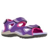 Kamik Lobster 2 Purple Sport Sandals