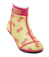 Duukies Beachsocks Pineapple Yellow Rose