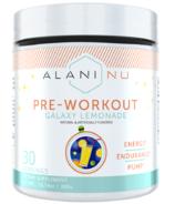 Alani Nu Pre-Workout Galaxy Lemonade