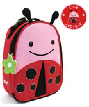 Skip Hop Zoo Lunchies Insulated Lunch Bag Lady Bug