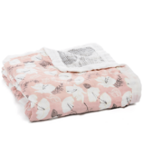 aden + anais Bamboo Silky Soft Dream Blanket Pretty Petals