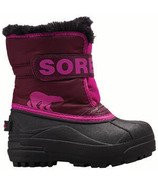 Sorel Children's Snow Commander Purple Dahlia & Groovy Pink