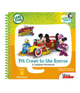 LeapFrog LeapStart 3D Mickey & Roadster Racers Pit Crews to the Resue Book