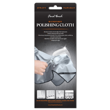 Final Touch Microfiber Polishing Cloth