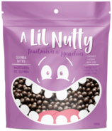 A Lil Nutty Dark Chocolate Quinoa Bites