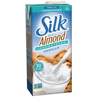Silk True Almond Unsweetened Vanilla
