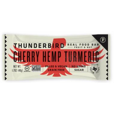 Thunderbird Real Food Bar Cherry Hemp Turmeric