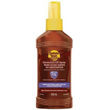 Banana Boat Sunscreen Oil Spray SPF 15