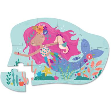 Crocodile Creek 12-Piece Mini Puzzle Mermaid Dreams