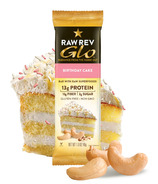 Raw Rev Glo Superfood Bar Birthday Cake
