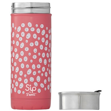 S\'ip Happy Face Travel Mug